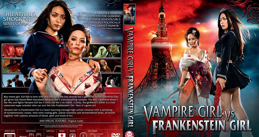 Vampire Girl vs. Frankenstein Girl / Kyûketsu Shôjo tai Shôjo Furanken